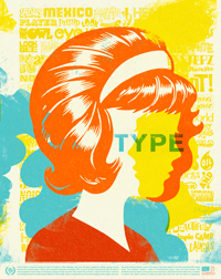 Type Face Poster